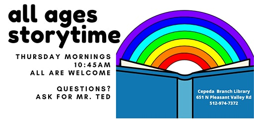 All Ages Storytime at Cepeda