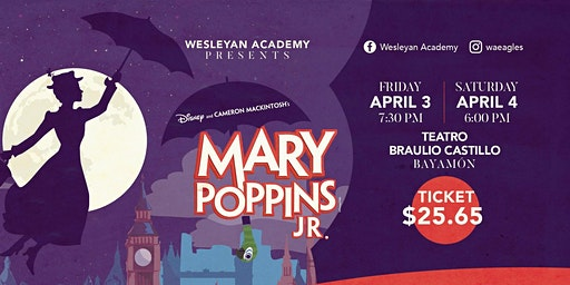 Mary Poppins Jr. (Wesleyan Academy Musical Theater)