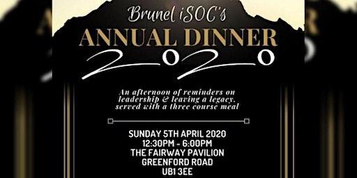 Brunel ISOC's Annual Dinner