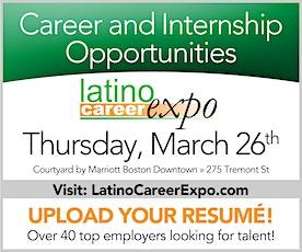 Latino Career Expo 2020 - El Mundo Boston - March 26th, 2020 tickets