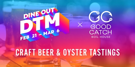 Craft Beer & Oyster Tasting - Mar 1 -  2PM tickets