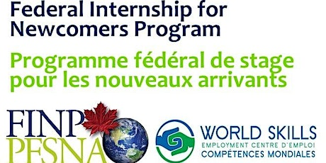 Federal Internship for Newcomers Program (FINP) Information Session 2020 tickets