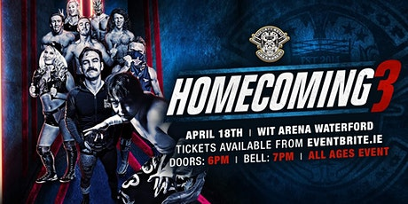 """Over The Top Wrestling """"HOMECOMING 3"""" tickets"""