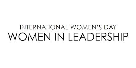 Women in Leadership tickets