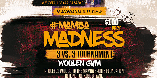 Mamba 3 v. 3 Charity Basketball Tournament