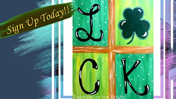 Luck O' The Irish Paint and Sip at Red's