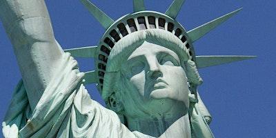 Statue of Liberty Pedestal Ellis Island and Pre Fe