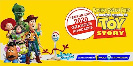 """Carnaval no Teatro! Desconto para """"Amigo Estou Aqui, incrível mundo de Toy"""" ingressos"""