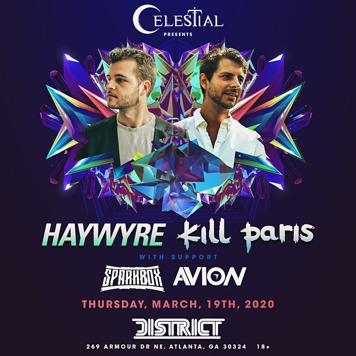 Celestial Presents: Haywyre & Kill Paris image
