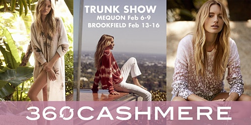 360 Cashmere & Skull Cashmere Trunk Show