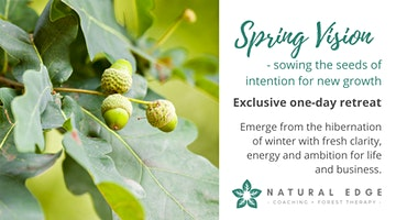 Spring Vision - sowing intentions for new growth