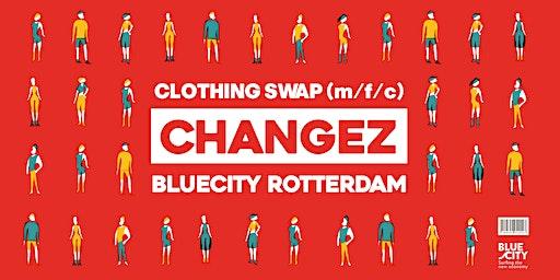 CHANGEZ kledingruil BlueCity 14 maart 2020