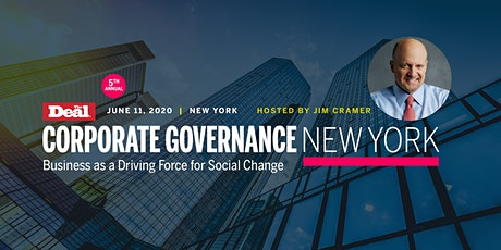 Corporate Governance New York: Business as a Driving Force for Social Change tickets