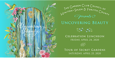 Individual Sponsor Uncovering Beauty: Garden Tour & Luncheon