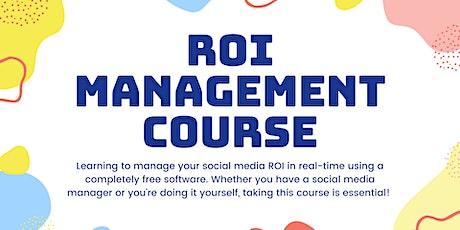 Social Media ROI Management tickets