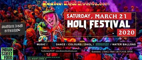 Holi Hai Fest - Color Dance - 2020 tickets