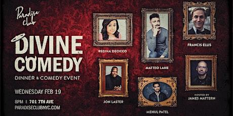 Divine Comedy: Dinner & Comedy Event tickets