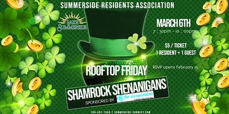 Rooftop Friday Shamrock Shenanigans sponsored by the Co-Operators tickets