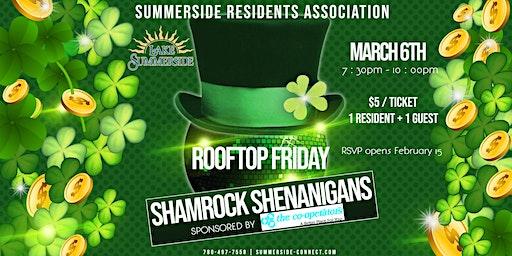 Rooftop Friday Shamrock Shenanigans