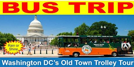 Washington DC's Old Town Trolley Tour tickets