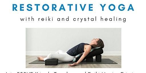 Candlelit Reiki Restorative with Crystal Healing