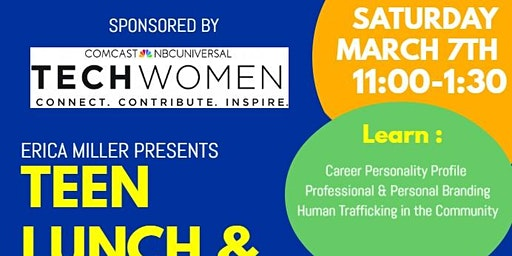 Teen Lunch & Learn ( Lunch Provided)
