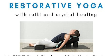 Candlelit Reiki Restorative with Crystal Healing tickets