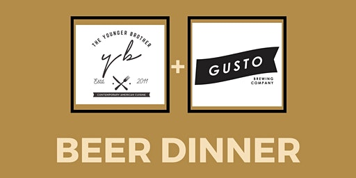 Y.B & GUSTO BEER DINNER St.Paddy's Day