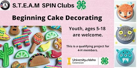Beginning Cake Decorating STEAM tickets
