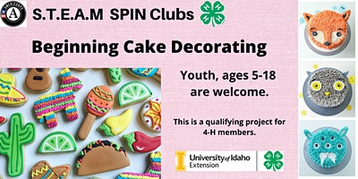 Beginning Cake Decorating STEAM