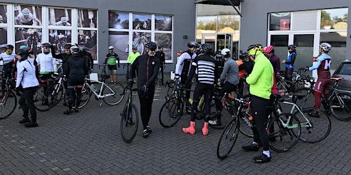 Coffee Ride 80 - 100 km, 27 km/h