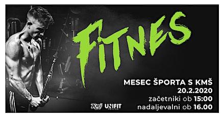 Mesec športa s KMŠ: Fitnes tickets