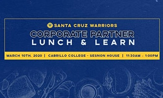 Corporate Partner Lunch and Learn - Cabrillo College