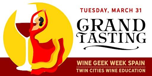Wine Geek Week: Spain - THE GRAND TASTING