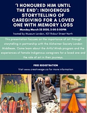 Storytelling - Indigenous Caregivers tickets