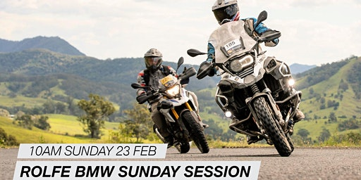 Rolfe BMW Motorrad Sunday Session