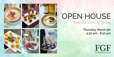 FGF Catering Spring Open House tickets