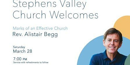 Alistair Begg and the Gettys at Stephens Valley Church