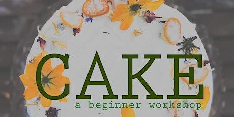 CAKE: a beginner workshop tickets