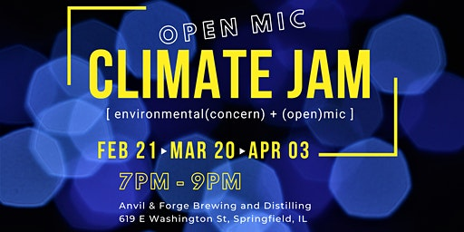 Climate Jam Open Mic Night
