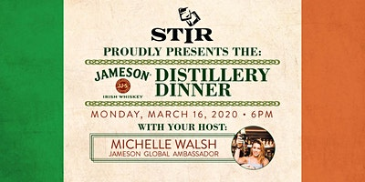 The Jameson Distillery Dinner