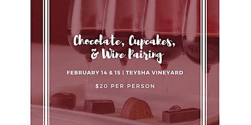 Spend Valentine's Weekend with Teysha Vineyard! (02-15-2020 starts at 12:00 PM)