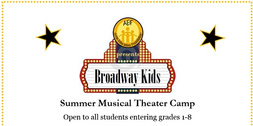 AEF Broadway Kids Camp 2020