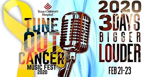 TUNE OUT CANCER MUSIC FEST 2020