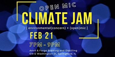 Climate Jam Open Mic Night