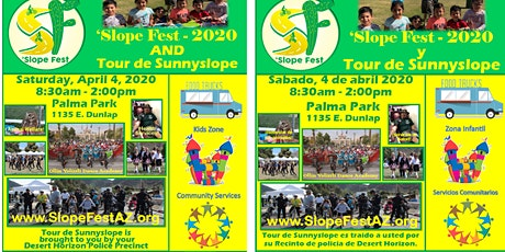 'Slope Fest 2021 & Tour de Sunnyslope tickets