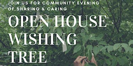 Open House Wishing  Tree tickets