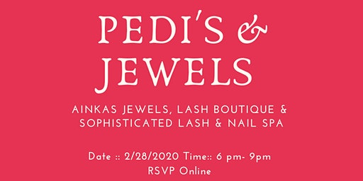 Pedi's & Jewels :: Ladies Night Event