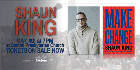BookPeople Presents An Evening with Shaun King (POSTPONED) tickets