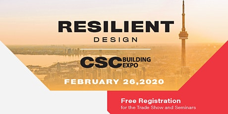 CSC Building Expo 2020 -  Seminar Registration  tickets